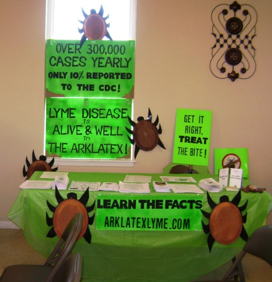 Arklatex Lyme Disease Prevention and Support reaches out to community.uni